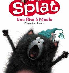 NATHAN Je lis avec Splat : Une fête à l'école