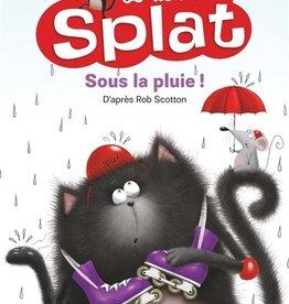 NATHAN Je lis avec Splat : Sous la pluie