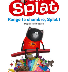 NATHAN Je lis avec Splat- Range ta chambre,Splat!