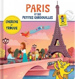 City monster books Paris et ses petites gargouilles : cherche et trouve!