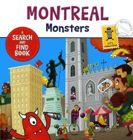 City monster books Montreal Monsters (anglais)