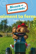 BAGNOLE Biscuit et Cassonade aiment la ferme