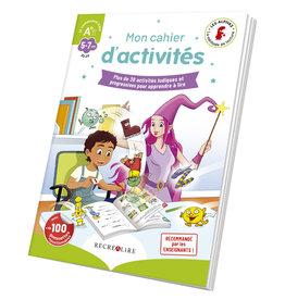 """Editions Recrealire Les Alphas : Cahier D'activités """"Je Commence À Lire"""""""