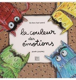 Quatre Fleuves La couleur des émotions : un livre tout animé