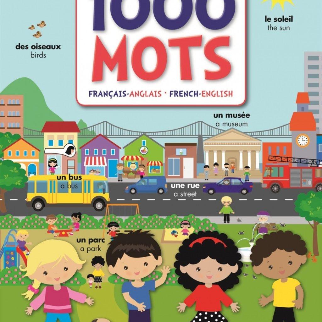 MEGA EDITIONS 1000 mots : Français–Anglais/French–English
