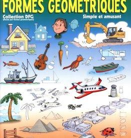 Edition coeur de pomme Je dessine avec des formes géométriques T.1
