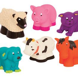 Battat Toys - Amis de bain animaux de la ferme