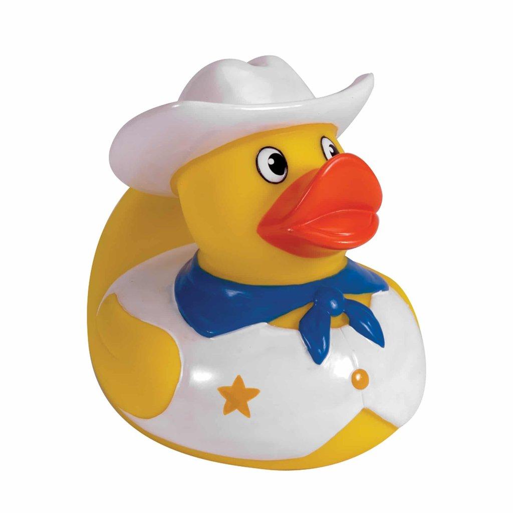 Schylling Canard de bain cowboy