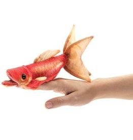 Folkmanis Marionnette mini poisson rouge