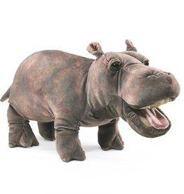 Folkmanis Marionnette bébé hippo