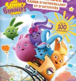 CRACKBOOM! Sunny Bunnies : Adorable cahier d' autocollants et  d'activités