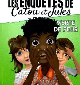 EDILIGNE Les enquêtes de Catou et Jules : Verte de peur