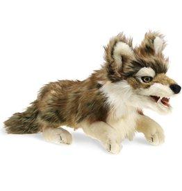 Folkmanis Marionnette Loup gris