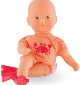 Corolle Mini poupée de bain orange