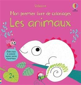 USBORNE Les animaux : mon premier livre de coloriages