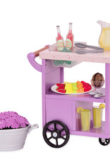 "Our Generation Accessoires de luxe - ""Patio Treats Trolley"""
