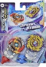 Beyblade Burst Surge Speedstorm - Regulus R6 et Spear Valtryek V6