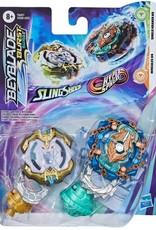 Beyblade Burst Duo - Hercule H4 et Shield Kraken K5unicrest