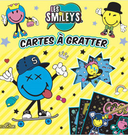 LES LIVRES DU DRAGON D'OR Les smileys : cartes à gratter 100 % fun