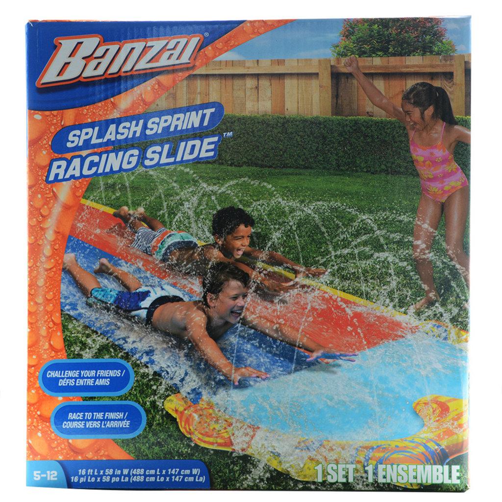 Banzai - Course Sprint glissade d'eau