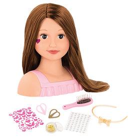 Our Generation - Tête à coiffer Talia