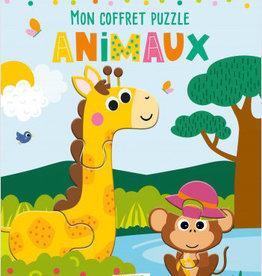 HEMMA Mon coffret puzzle animaux
