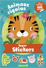 HEMMA Animaux rigolos: super stickers