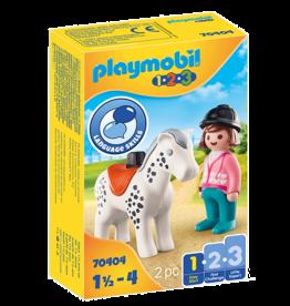 Playmobil 70404 Cavalière avec cheval