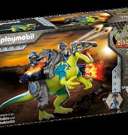 Playmobil 70625 Spinosaure et combattants