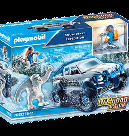 Playmobil 70532 Explorateur avec véhicule et yeti