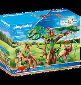 Playmobil 70345 Orangs-outans avec grand arbre