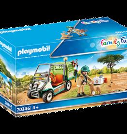 Playmobil 70346 Vétérinaire et véhicule tout terrain