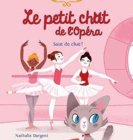 NATHAN Le petit chat de l'opéra. Saut de chat!