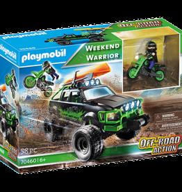 Playmobil 70460 Véhicule tout-terrain et moto-cross