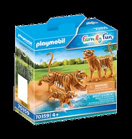 Playmobil 70359 Couple de tigres avec bébé