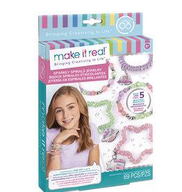 Make it real - Bracelets en spirale scintillant