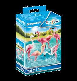Playmobil 70351 Groupe de flamants roses