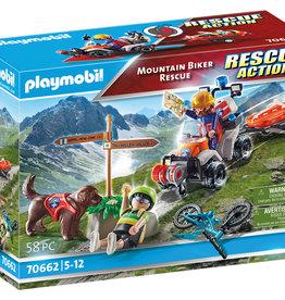 Playmobil 70662  Secouristes de montagne avec véhicules