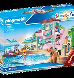 Playmobil 70279 Port avec restaurant de glaces