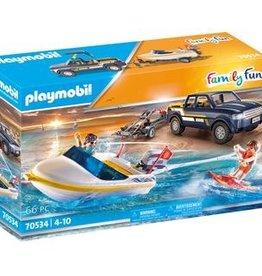 Playmobil 70534 Véhicule tout-terrain et bâteau