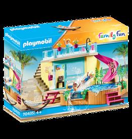 Playmobil 70435 Bungalow avec piscine