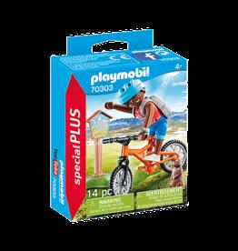 Playmobil 70303 Cycliste avec marmotte
