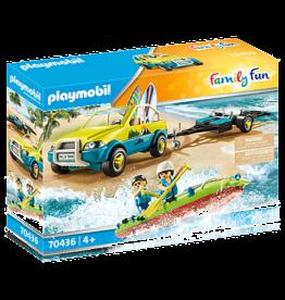 Playmobil 70436 Voiture avec canoe