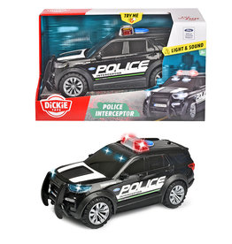 Dickie Action Series-Camion de police Ford S&L 25cm