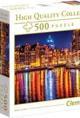 Clementoni Amsterdam Boite carrée - 500pcs