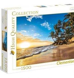 Clementoni Levé de soleil tropical - 1500 pieces