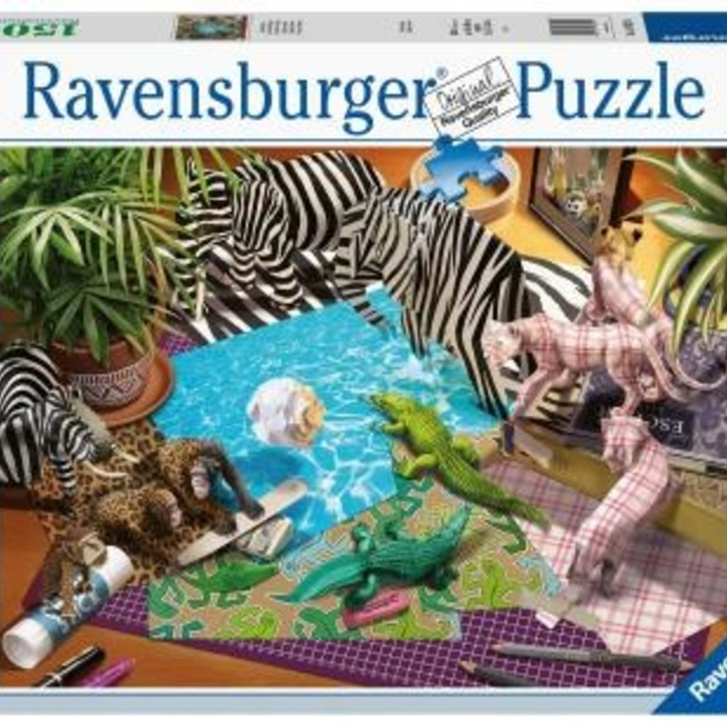 Ravensburger Adventure et origami - 1500pcs