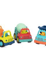 B. Active - Happy Cruisers ensemble de 3 petits camions