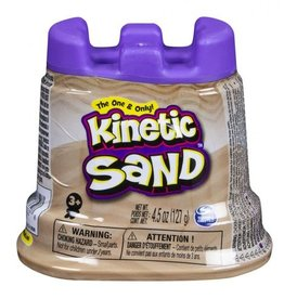 Spin Master Kinetic sand- contenant simple- marron