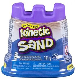 Spin Master Kinetic sand- contenant simple- bleu